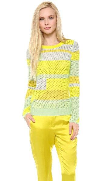 M. PATMOS Cashmere Colorblock Sweater