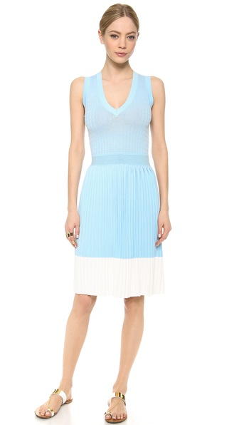 M. PATMOS Grid V Dress