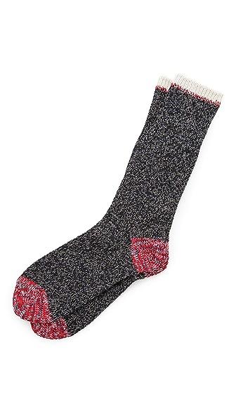 Mr. Gray Twister Melange Socks