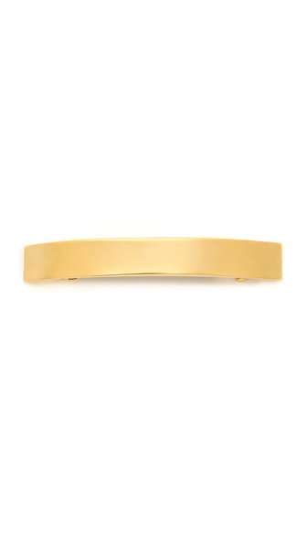 Mrs. President & Co. Curved Rectangle Barrette