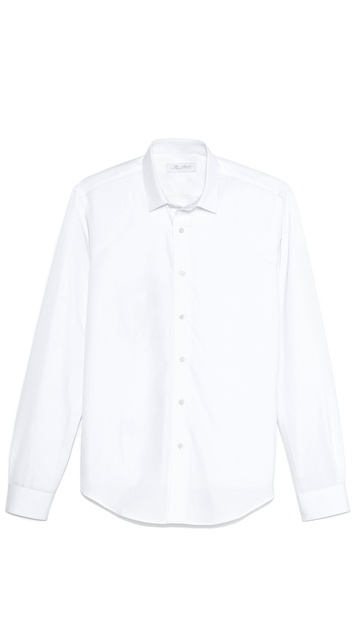 Mr. Start Square Collar Poplin Shirt