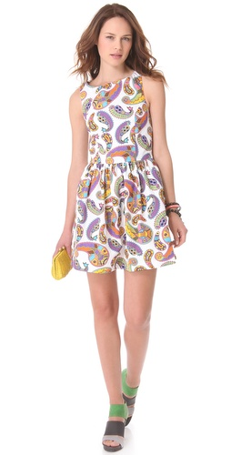 MSGM Paisley Memphis Dress