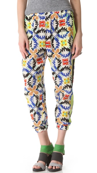 MSGM Tribal Jogging Pants