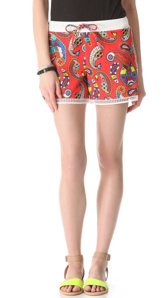 MSGM Printed Bermuda Shorts