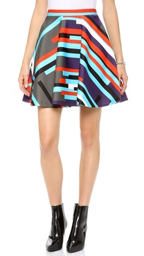 MSGM Neoprene Skirt