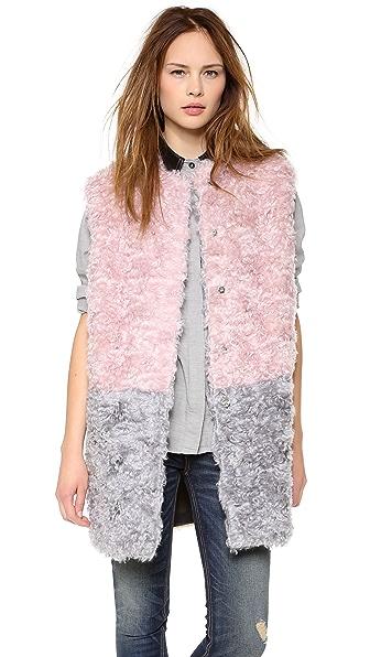 MSGM Colorblock Vest