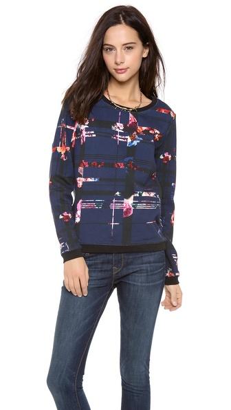 MSGM Geometric Sweatshirt