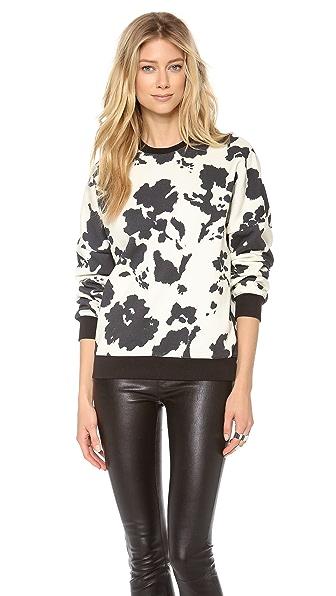 MSGM Cow Print Sweatshirt