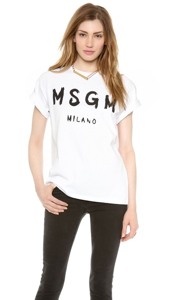 MSGM MSGM Tee
