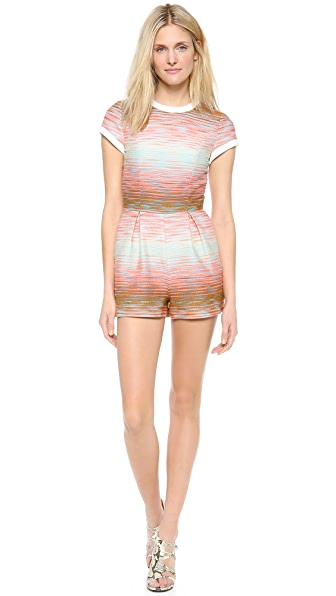 MSGM Open Back Romper