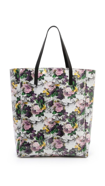 MSGM Printed Shopping Tote