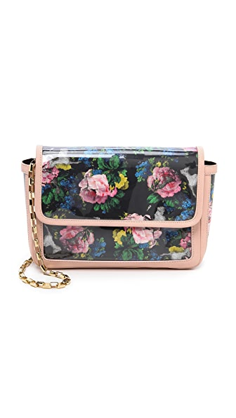 MSGM Printed Shoulder Bag