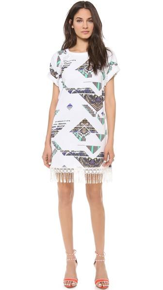 MSGM Fringe Dress