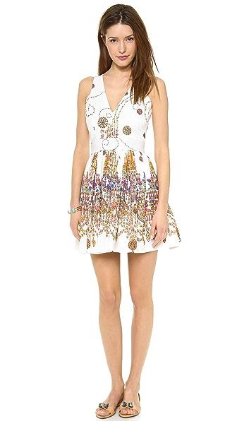 MSGM Printed Sleeveless Dress