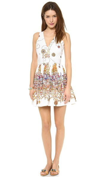 MSGM Printed Sleeveless Dress