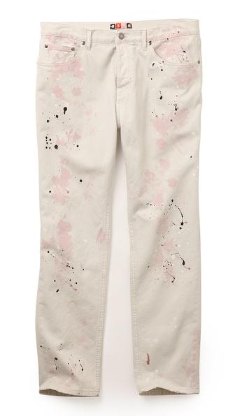 MSGM Splatter Jeans