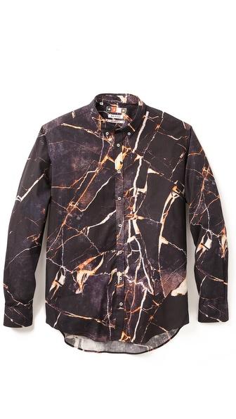 MSGM Marbled Shirt