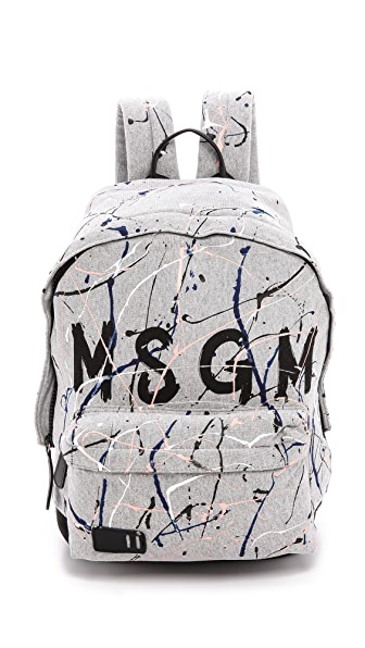 MSGM Paint Backpack