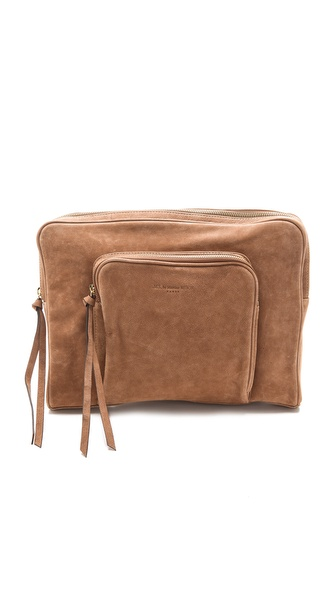 MS by Martine Sitbon Suede Clutch