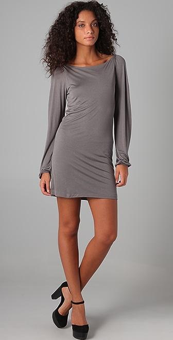 Majestic Shoulder Drape Dress