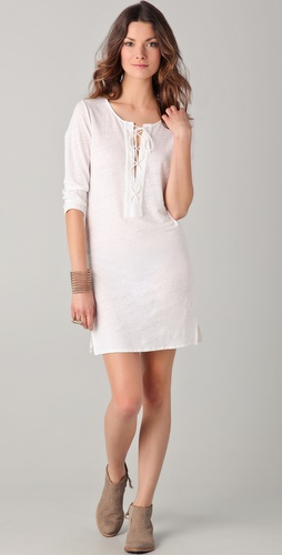 Majestic Linen Jersey Dress