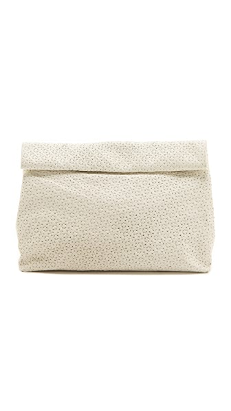 Marie Turnor Accessories The Embossed Lunch Clutch