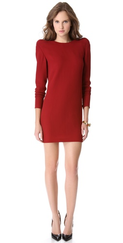 Shop Mugler Shoulder Detail Dress and Mugler online - Apparel, Womens, Dresses, Cocktail, Night_Out,  online Store