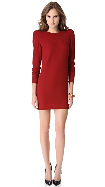 Mugler Shoulder Detail Dress