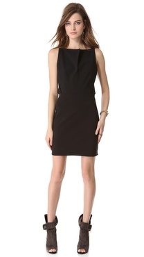 Mugler Keyhole Backless Dress