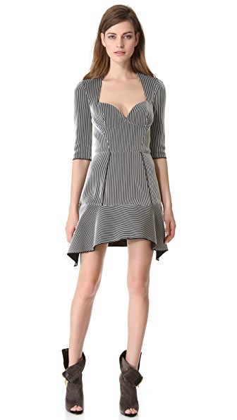 Mugler Ribbed Dress