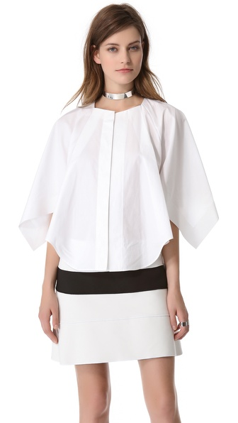Mugler Draped Top