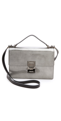 Mugler Muglerette M Bubble Patent Satchel at Shopbop / East Dane