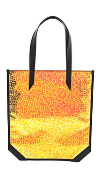 Mugler Bubble Hologram Tote
