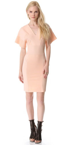 MAISON ULLENS Embossed Knit Dress