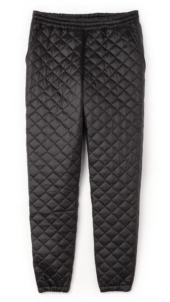 Apologies Quilted Cycling Pants