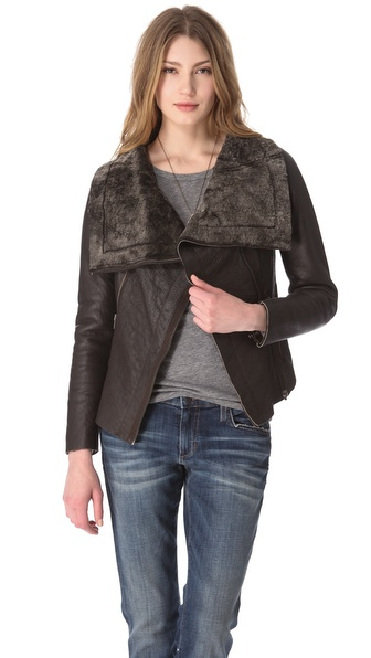 Muubaa Bronson Shearling Jacket from shopbop.com