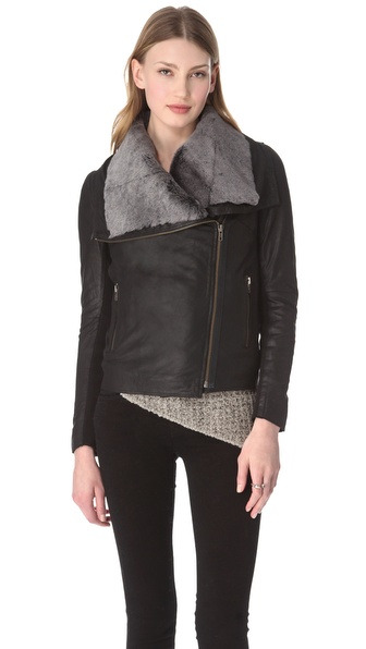 Muubaa Phoenix Shearling Jacket / Vest