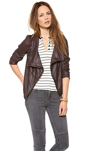 Muubaa Prome Leather Jacket