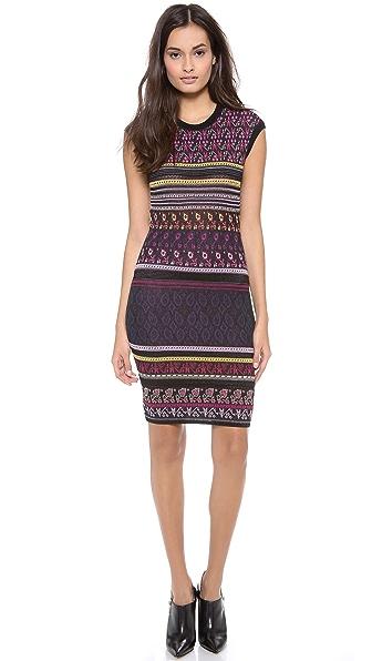 Marchesa Voyage Craft Dress