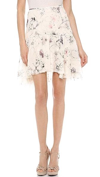 Marchesa Voyage Ruffle Skirt