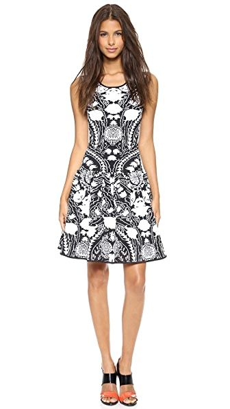 Marchesa Voyage Floral Knit Tank Dress
