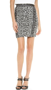 Marchesa Voyage Lace Up Skirt