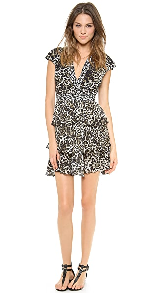 Marchesa Voyage Faux Wrap Dress