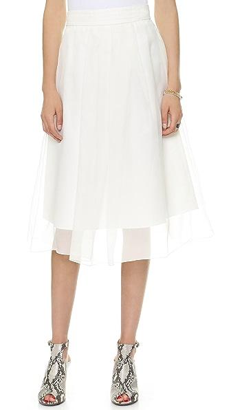 Marissa Webb Carine Faille Skirt