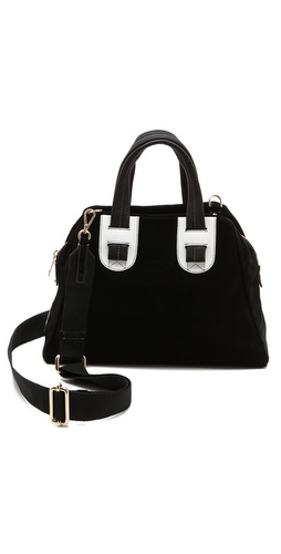 Meredith Wendell Suede Satchel at Shopbop / East Dane