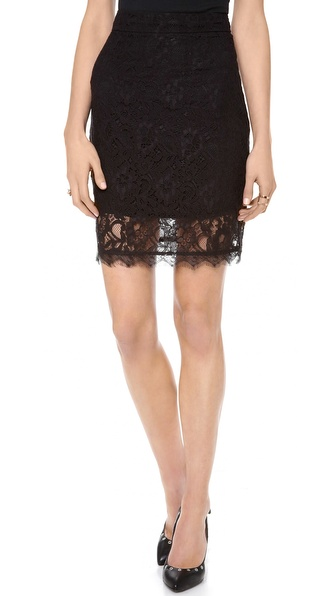 Myne Vienna Lace Pencil Skirt