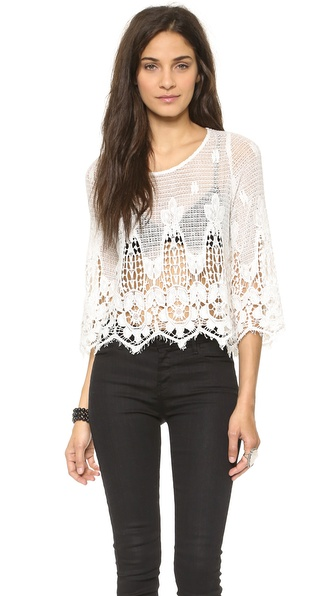 Myne Leo Bell Sleeved Top