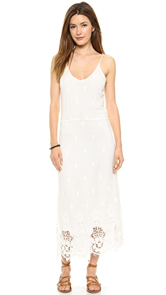 Myne Meteor Spaghetti Strap Maxi Dress