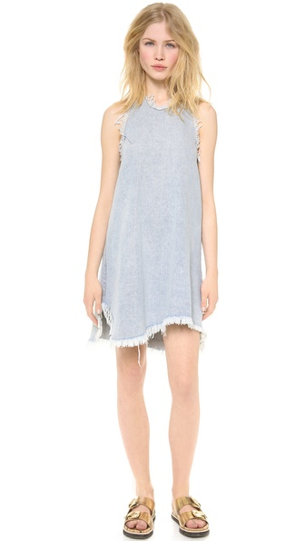 Re: Named Denim Halter Neck Dress - Light Denim