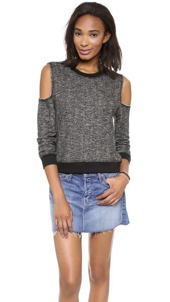 re:named Open Shoulder Sweatshirt
